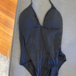 Black Victoria's Secret one piece